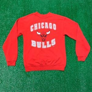 Vintage Shirts & Tops - Vintage 90s Boys Chicago Bulls Crewneck Sweatshirt